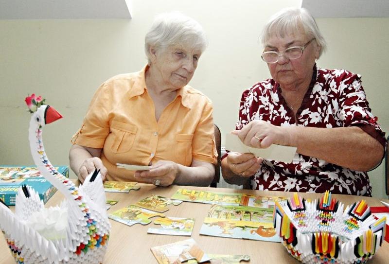 Senelių namų laisvalaikis